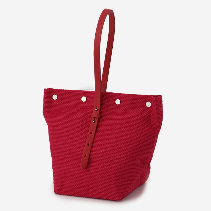 CaBas No.47 Bucket Tote Red/Red