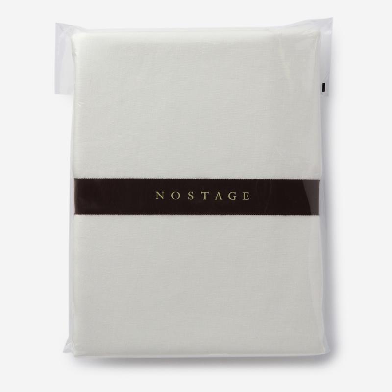 NOSTAGE ピュアリネン 布団カバー(シングル) ホワイト