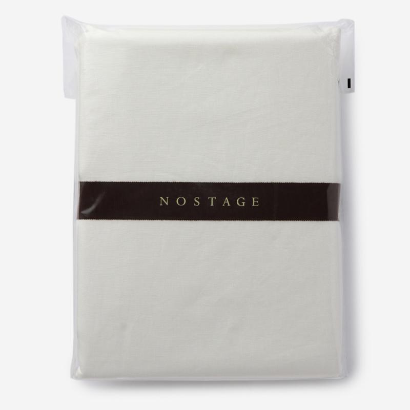 NOSTAGE ピュアリネン 布団カバー(ダブル) ホワイト