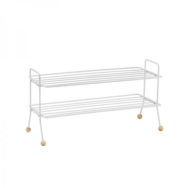 BILL SHOE SHELF WHITE