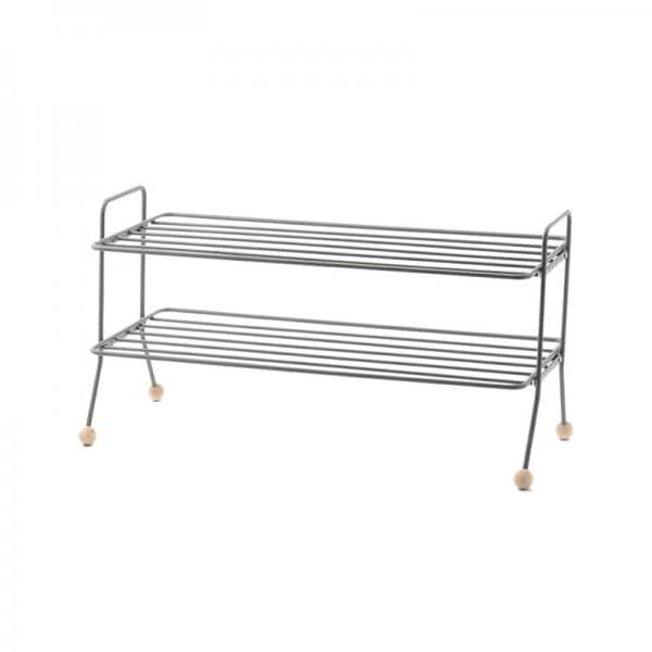 BILL SHOE SHELF GREY