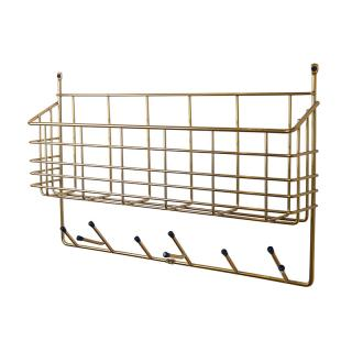 MITTEN SHELF BRASS