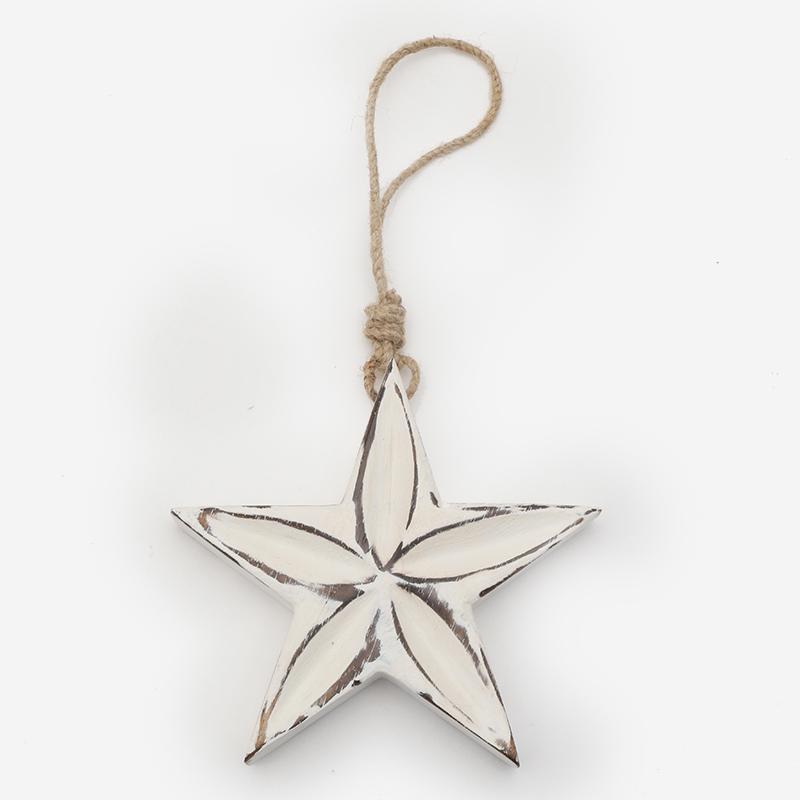 マンゴーウッド HANG STAR L ホワイト
