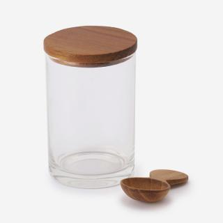 RISE&SHINE WOOD CANISTER SPOON(S)