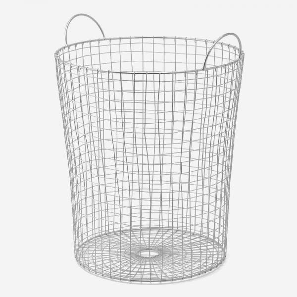 ワイヤーランドリーバスケット L 40×45