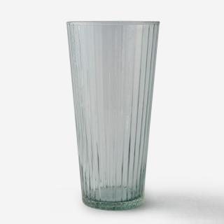 ハンドメイドガラスベース RIB Lサイズ グレー