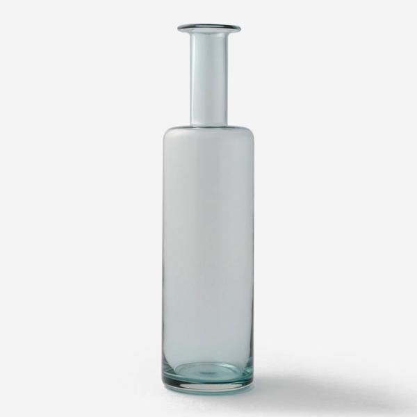 ハンドメイドガラスベース BOTTLE Lサイズ グレー