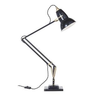 ANGLEPOISE 1227 BRASS DESK LAMP DEEP SLATE