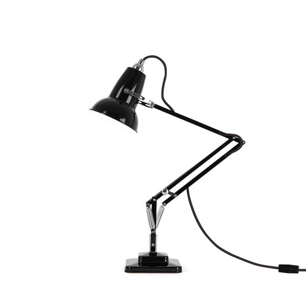 ANGLEPOISE 1227 MINI DESK LAMP JET BLACK