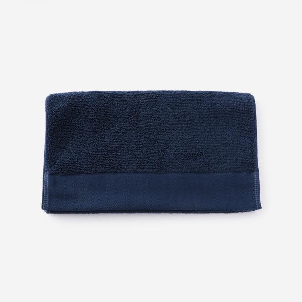 EVERY 18AW フェイスタオル ブルー 34×80cm