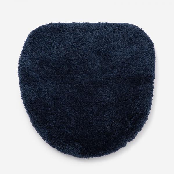 EVERY 18AW トイレ蓋カバー ブルー 42×43cm