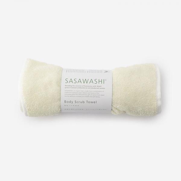 SASAWASHI ボディタオル オフホワイト