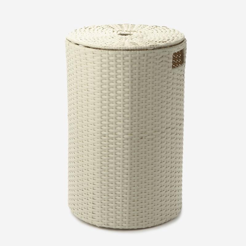 PPランドリーボックス 円柱