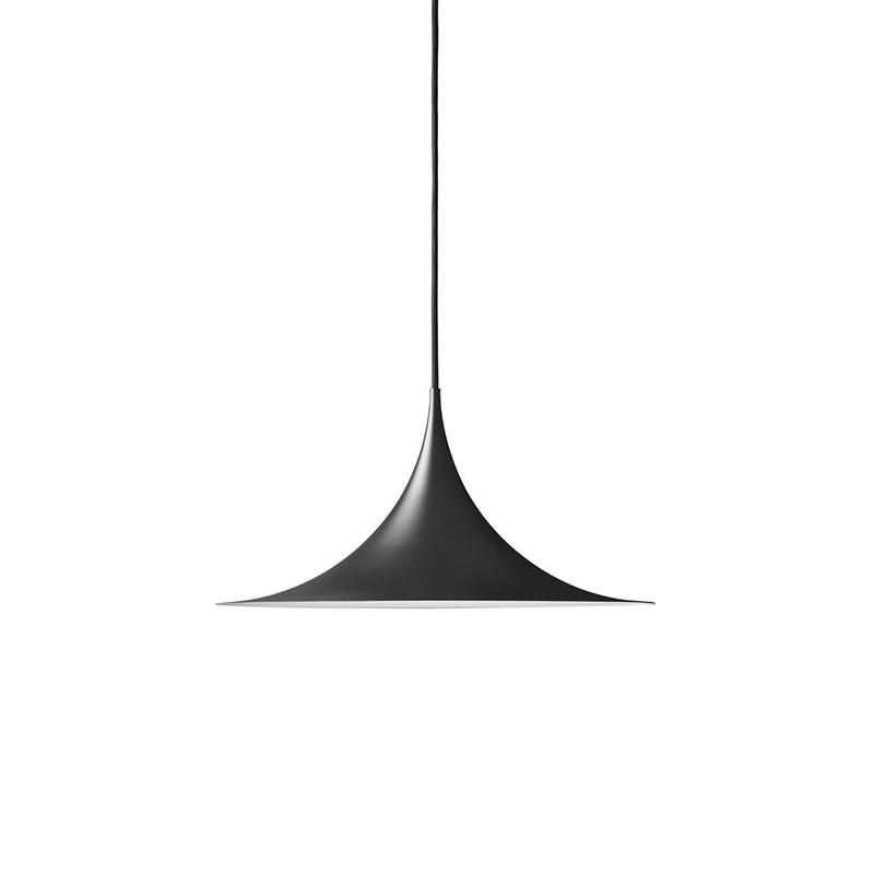 SEMI PENDANT LAMP R47 BLACK
