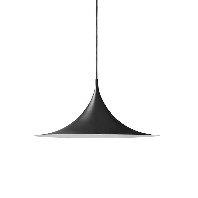 SEMI PENDANT LAMP R60 BLACK