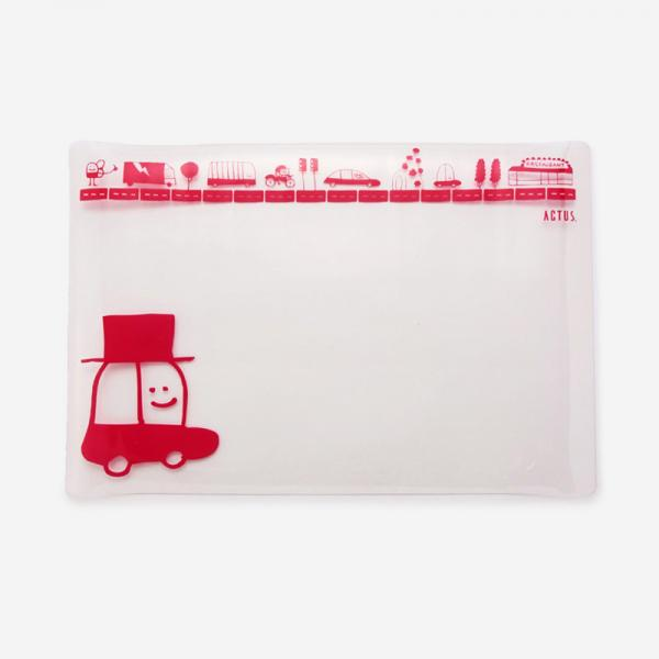 Chispum デスクマット Red Cars
