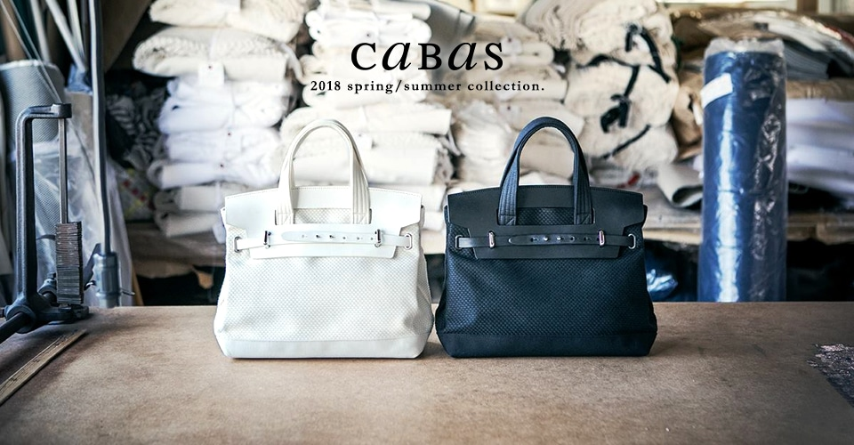 ▼CaBas 2018 Spring/Summer collection