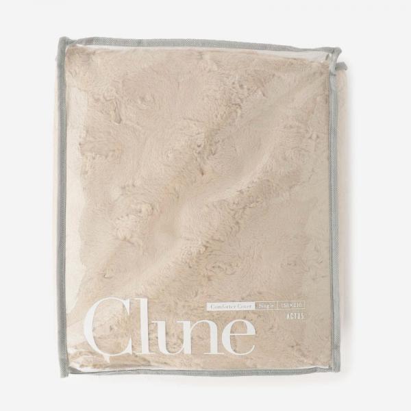 CLUNE 18AW 布団カバー(シングル) 150×210cm ダークベージュ