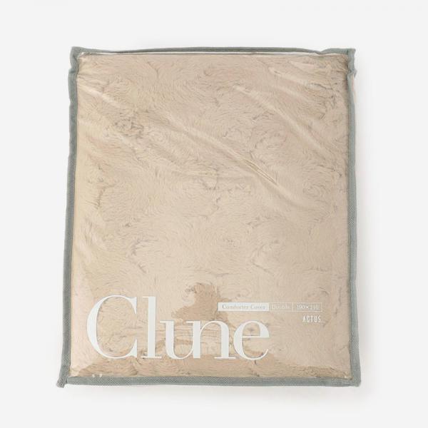 CLUNE 18AW 布団カバー(ダブル) 190×210cm ダークベージュ