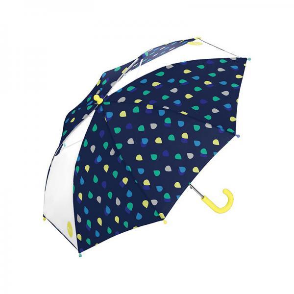 w.p.c for kids Umbrella 50cm ドロップ ネイビー