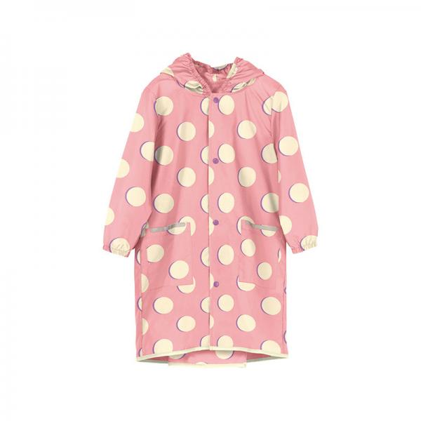 w.p.c for kids Raincoat Mサイズ  ムーン ピンク