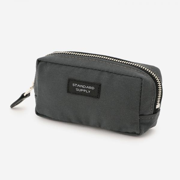 SQUARE POUCH Sサイズ STEEL GREY