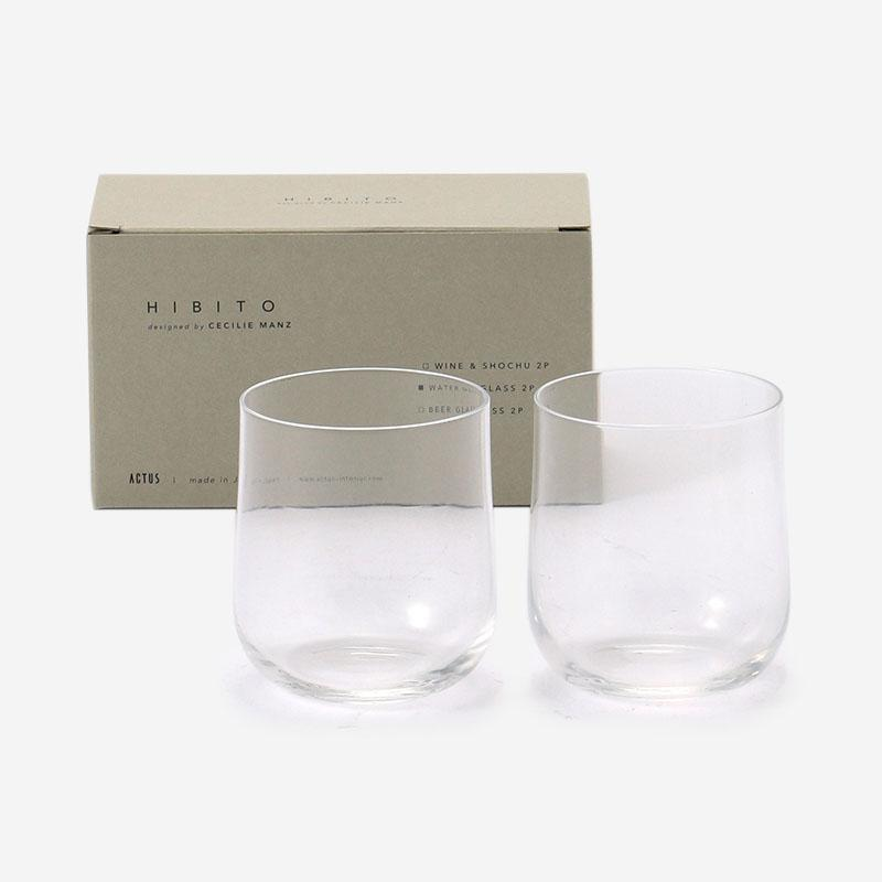 GIFT SET WATER GLASS 2P