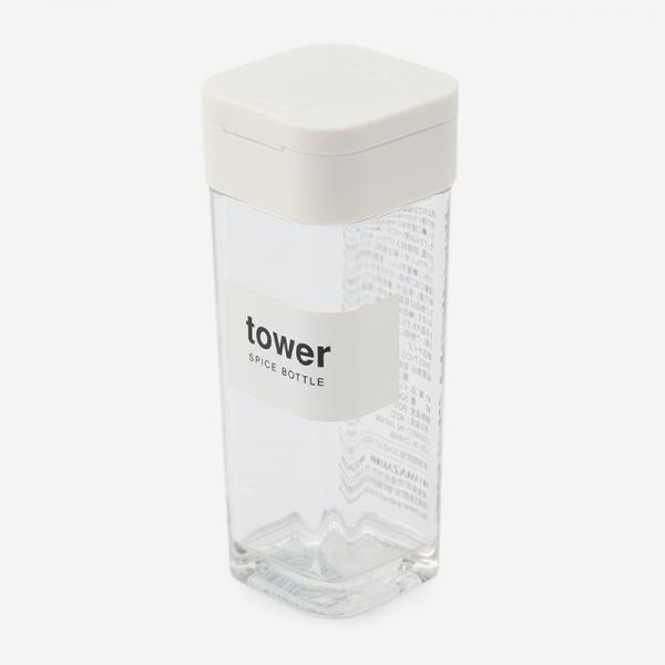 tower スパイスボトル ホワイト