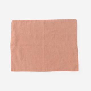 LINEN TALES プレースマット 35cm×45cm ライトオレンジ