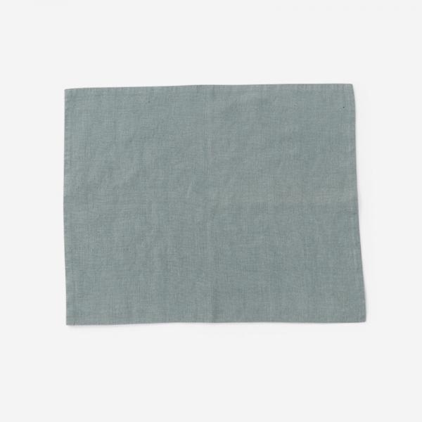LINEN TALES プレースマット 35cm×45cm ブルー