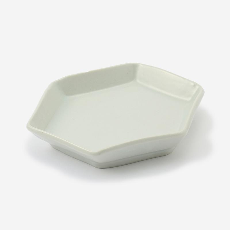 九谷 取り皿 六角