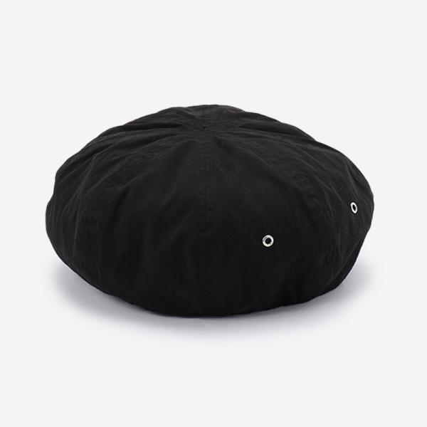 launch ベレー帽 ブラック H173-501