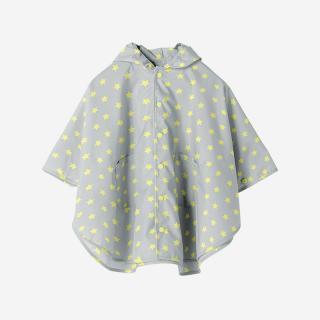 Rain Poncho Sサイズ STAR GRAY