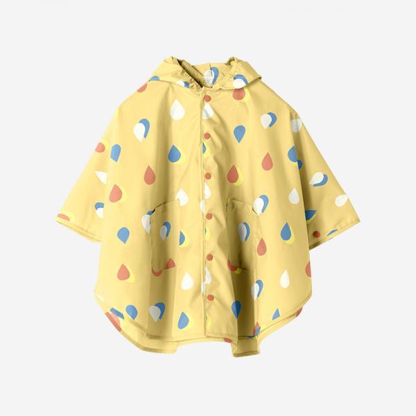 Rain Poncho Mサイズ COLOR DROP
