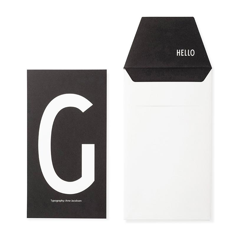 DESIGN LETTERS+Arne Jacobsen GREETING CARD G