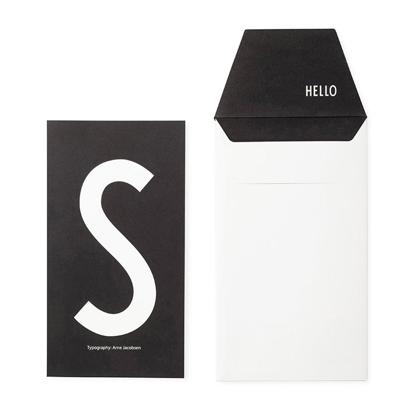DESIGN LETTERS+Arne Jacobsen GREETING CARD S
