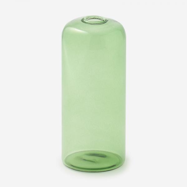 ドロワ カラーガラスベース Mサイズ グリーン