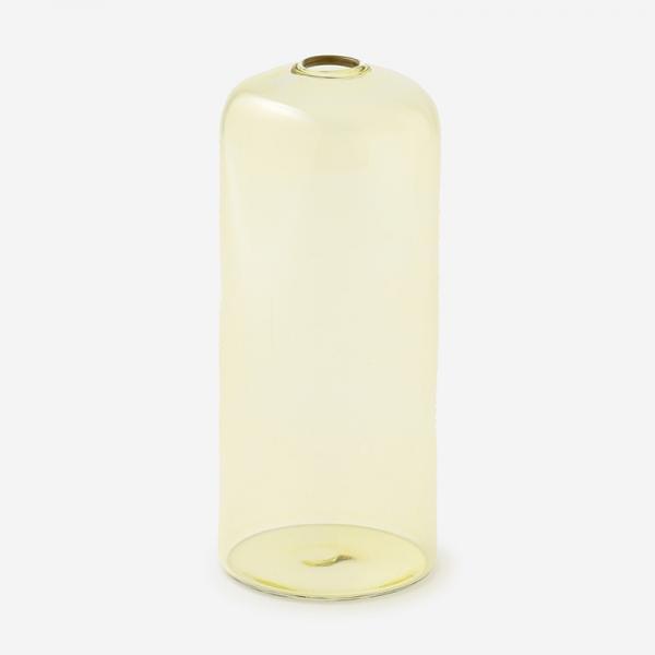 ドロワ カラーガラスベース Mサイズ アンバー