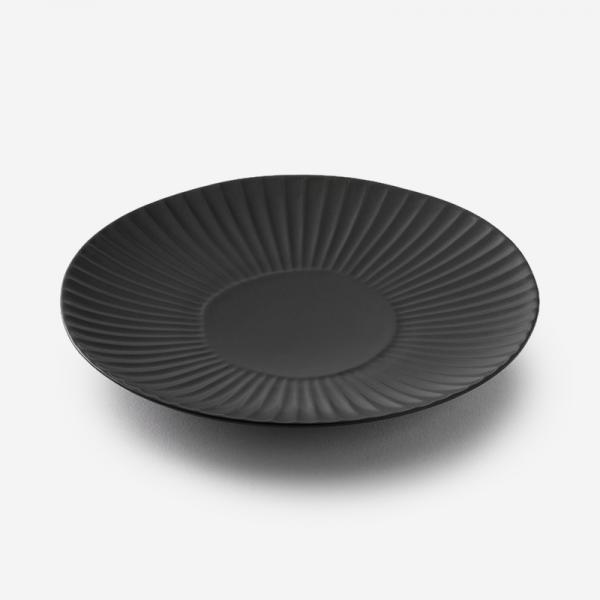 SHINOGI 中皿 R17.5cm マットブラック