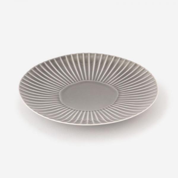 SHINOGI 中皿 R17.5cm グレー