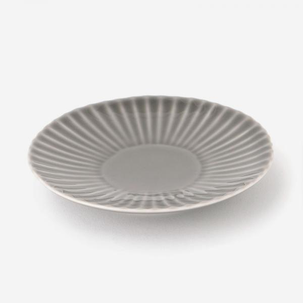 SHINOGI 小皿 R11.2cm グレー