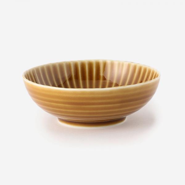 SHINOGI 小鉢 R14.3cm キャメル