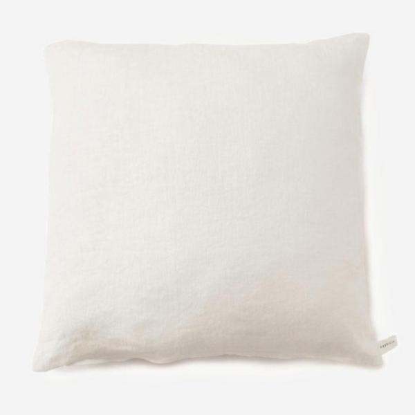 PLANクッションカバー 45cm角 ホワイト