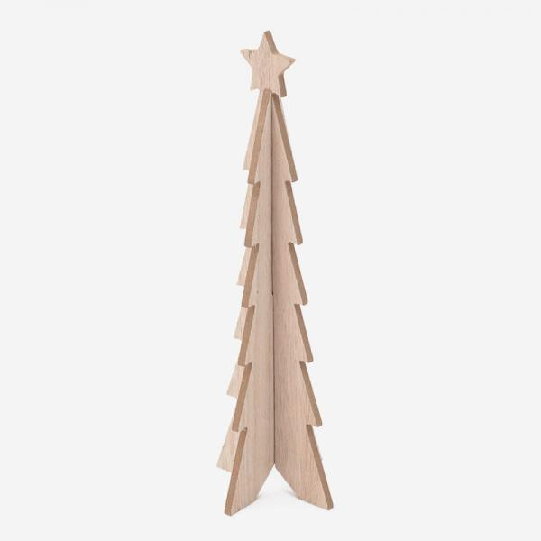 WOODEN TREE H34cm