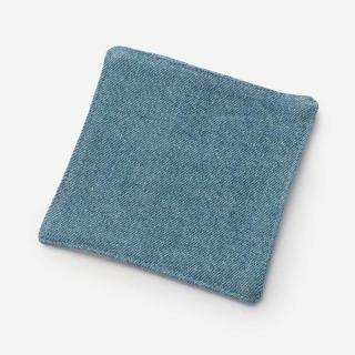 RISE&SHINE デニムコースター 10×10cm ブルー