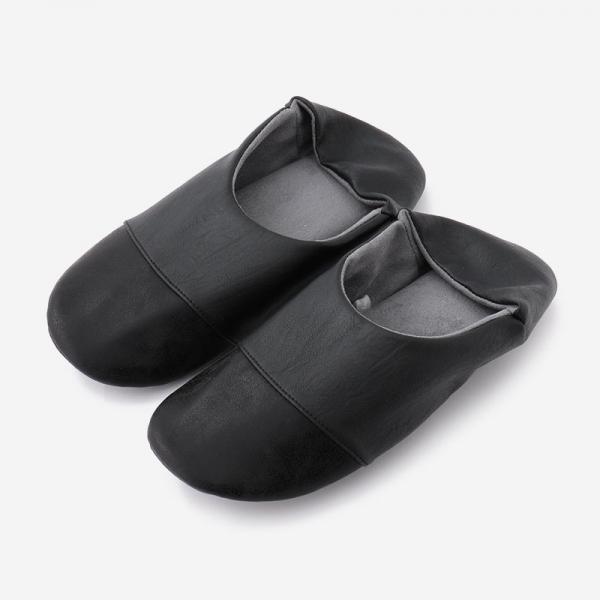 BADRUMⅢルームシューズ 25-26.5cm(L) ブラック×ブラック