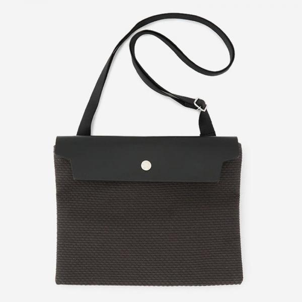 CaBas No.60 Micro Shoulder medium Gray/Black