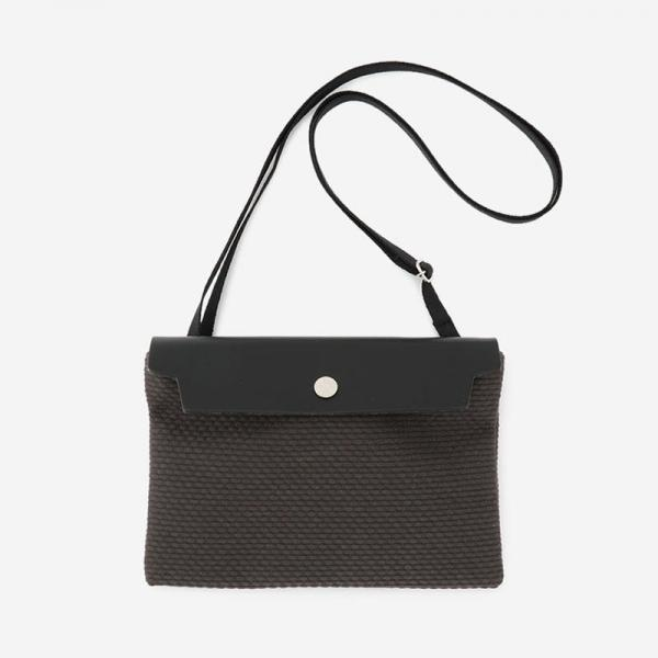 CaBas No.59  Micro Shoulder small Gray/Black