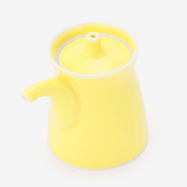 白山陶器 G型しょうゆさし 黄