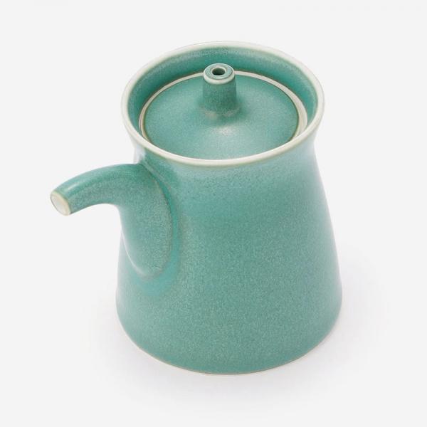 白山陶器 G型しょうゆさし グリーン
